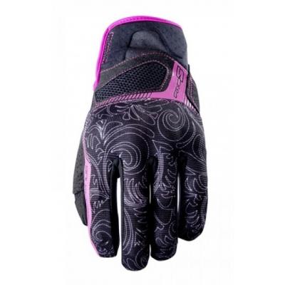 Dámske rukavice FIVE RS3 čierno/ružové