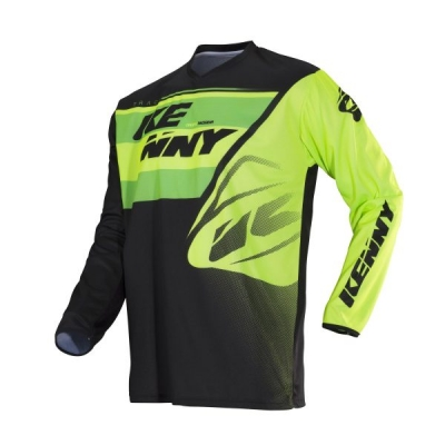 Dres Kenny Track 2018 žltá zelena neon