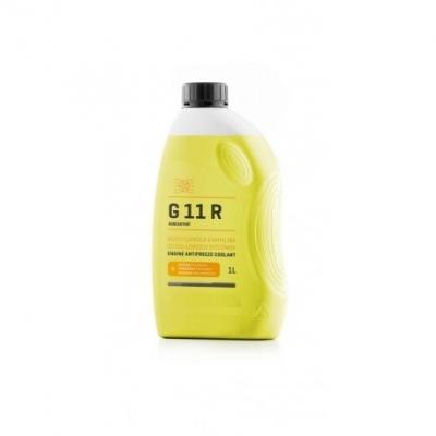 Chladiaca kvapalina G11 R 1L žltá Peugeot, Renault, Citroen