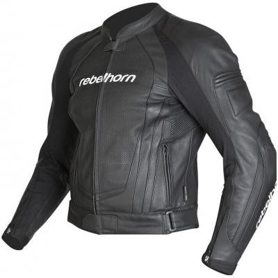 Kožená bunda Rebelhorn Piston II, na motorku