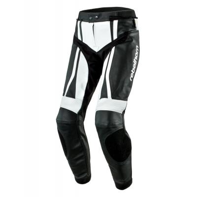 Kožené nohavice Rebelhorn PISTON II - čieno/biele