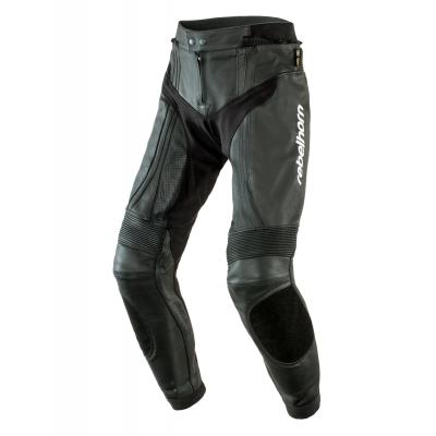 Kožené nohavice Rebelhorn PISTON II - čierne