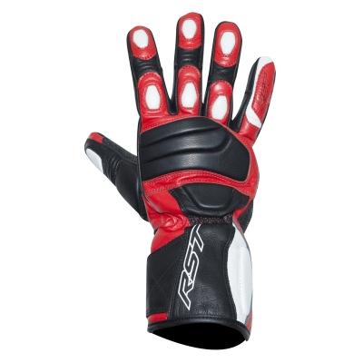 Kožené rukavice RST Urban II čierno-červené, na motorku