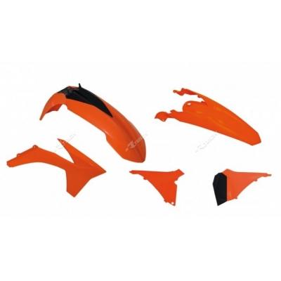 Sada plastov oranžová