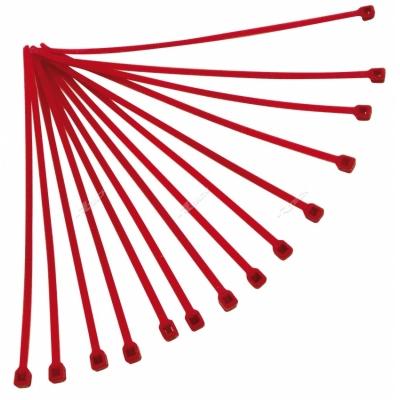 Páska viazacia nylon 4,2*280 červena