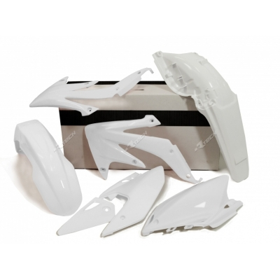 Sada plastov biela 4 dielna