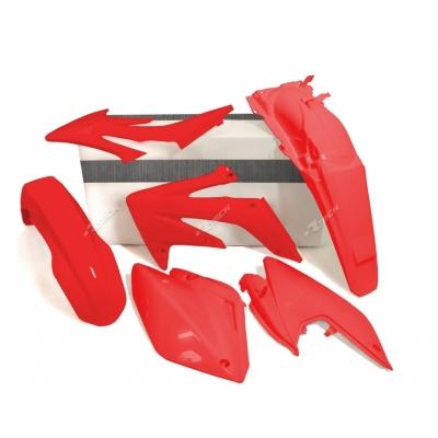 Sada plastov červena 4 dielna