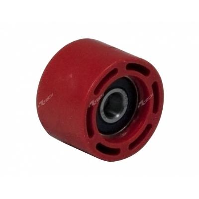Vodítko reťaze kolečko červena