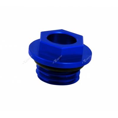 Zátka na olej modrá