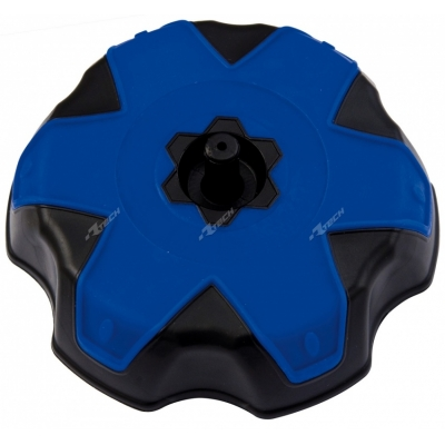 Zátka na nádrž čierna- TM modrá