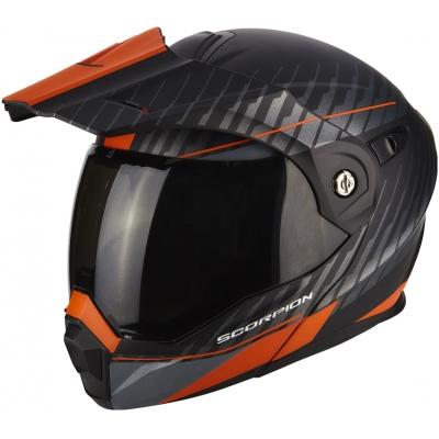 Prilba Scorpion ADX-1 Dual čierno-oranžová, na motorku