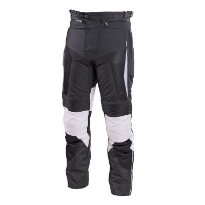 Textilné nohavice SECA Hybrid II čierno-sivé, na motorku