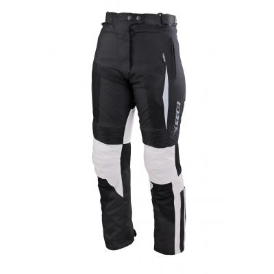 Textilné nohavice SECA Hybrid II Lady čierno-sivé, na motorku