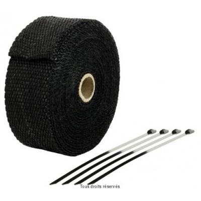 Páska na výfuk 10m čierna