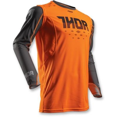 Dres Thor Prime Fit Rohl 2018 čierno-neónovooranžový, na motorku