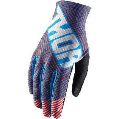Detské rukavice Thor Void Geotec 2018 červeno-modré, na motorku
