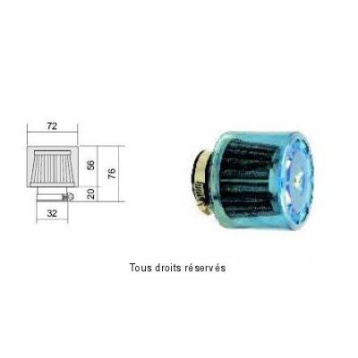Tuningový vzduchový filter Ø32 l76, 98FR01