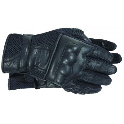 Cestné rukavice na motorku Akito Summer Breeze čierne