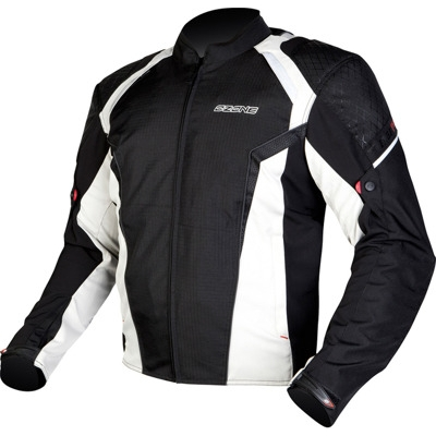 Textilná bunda Ozone Edge Evo - čierno/sivá
