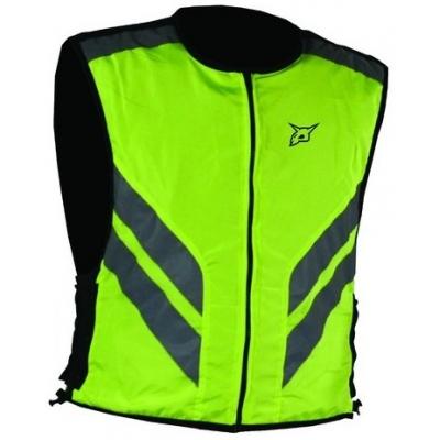 Reflexná vesta Rebelhorn neónovo-žltá, na motorku