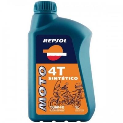 Repsol Moto Sintetico 4T 10W40 1L, na motorku