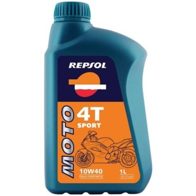 Repsol Moto Sport 4T 10W40 1L, do motorky