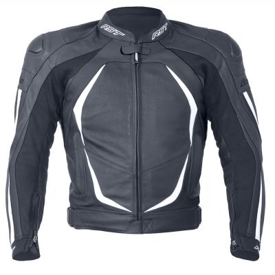 Kožená bunda RST Blade II Lady čierno-biela, na motorku