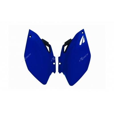 Zadné tabuľky modra