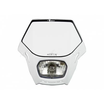 Predná maska so svetlom MATRIX biela