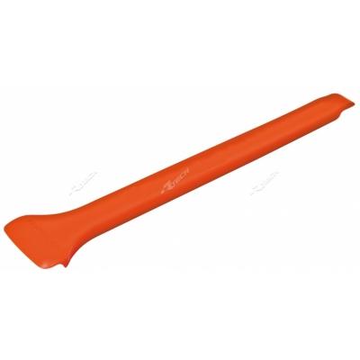 Škrabka na blato oranzova