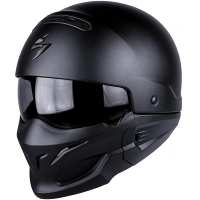 Prilba Scorpion EXO-COMBAT Solid matná, na motorku