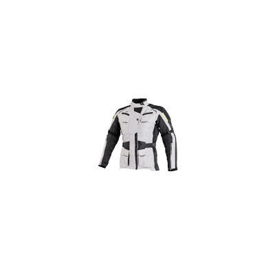 Textilná bunda SECA Discovery Lady čierno-sivá, na motorku