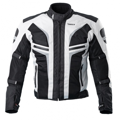 Textilná bunda SECA Stream II čierno-sivá, na motorku